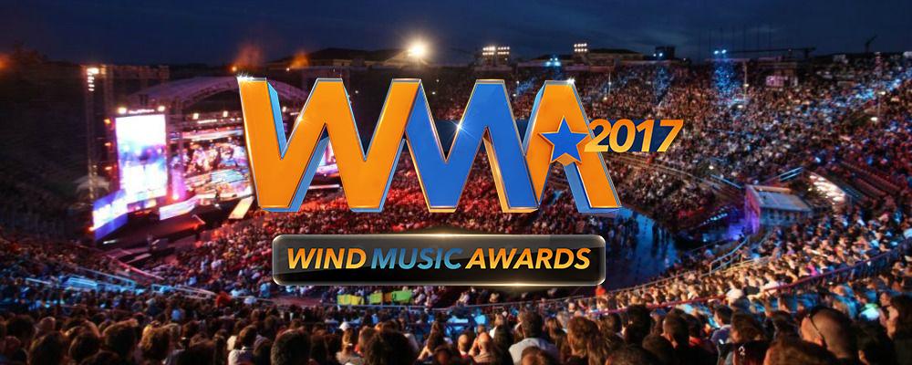 """Wind Music Awards 2017<span class=""""w-portfolio-item-text"""">Ideazione Grafica – Playout TV & Ledwall </span>"""